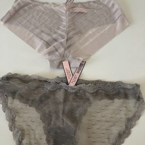 NWT Victoria secret 2 pairs, Hipster, size M